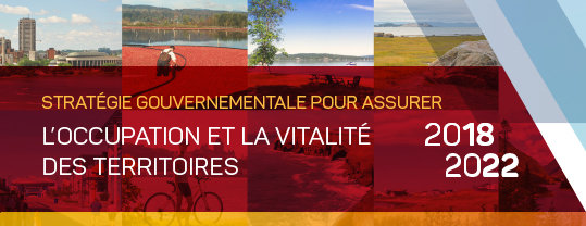 Stratégie gouvernementale pour assurer l'occupation et la vitalité des territoires 2018-2022